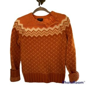 BOHO SPICED DREAMS VINTAGE AEO SWEATER NWOT RARE NEVER WORN EXCELLENT CONDITION
